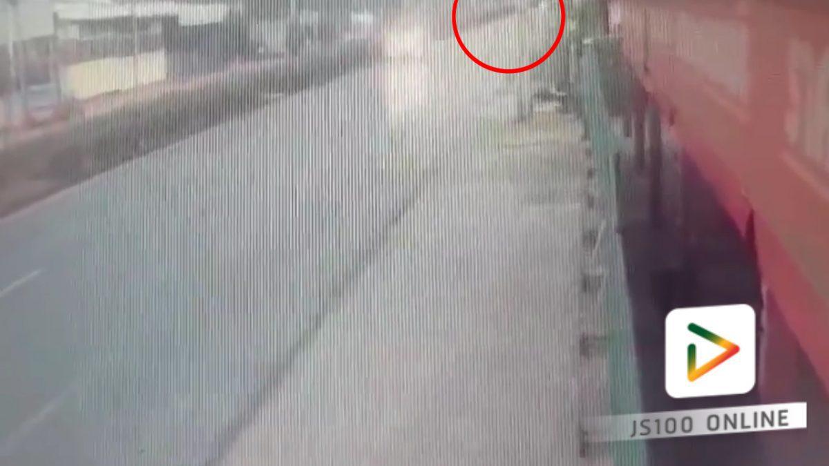 รถชนกับคนข้ามถนน (25-02-61)