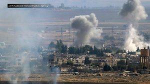 กองทัพตุรกี-ซีเรียยิงปืนใหญ่ข้ามพรมแดนครั้งแรก