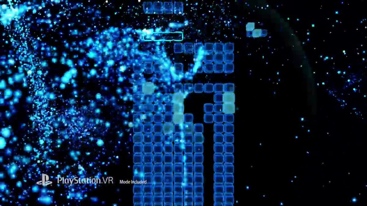 [ตัวอย่างเกม] Tetris Effect - E3 2018 Announce Trailer PS4