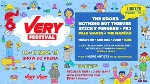 ศิลปินระดับโลก ตบเท้ามาไทยในเทศกาลดนตรี Very Festival วันที่ 16-17พฤศจิกายนนี้!!