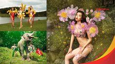 ปฏิทินภาพสาวงามและดอกไม้ สายการบินเวียตเจ็ท