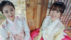 เกิร์ลกรุ๊ปวง G-Friend อวดเสน่ห์ความน่ารักในชุดฮันบก