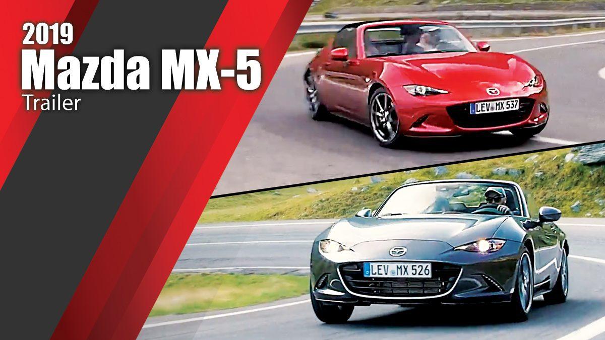2019 Mazda MX-5 Trailer