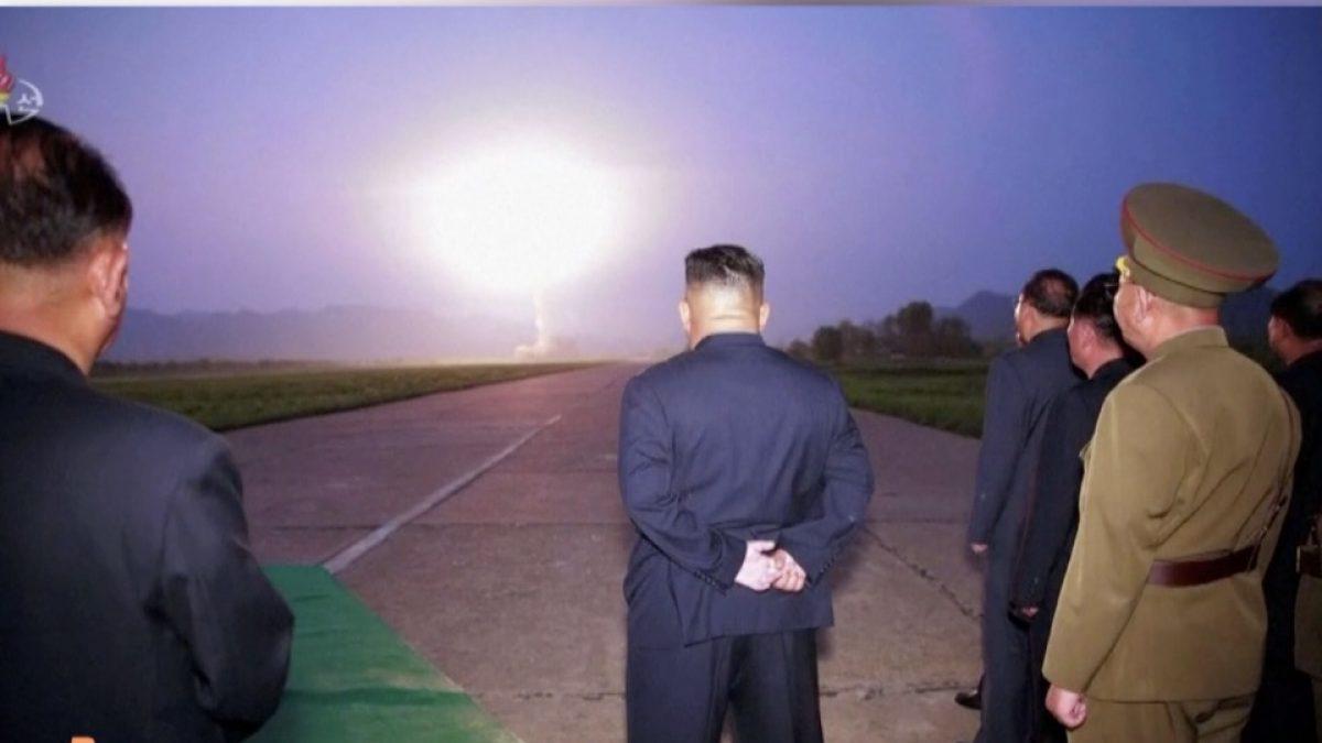 เกาหลีเหนือทดสอบขีปนาวุธพิสัยใกล้ครั้งที่ 5