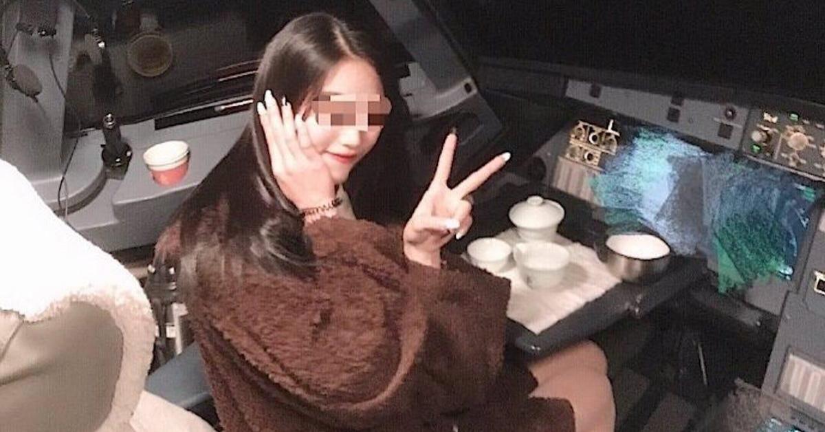 กัปตันจีนถูกสั่งห้ามบินตลอดชีวิต หลังว่อนภาพสาวเก๊กท่าถ่ายรูปในห้องนักบิน