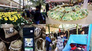 งานโครงการหลวง 2561 ชิม ช้อป ผลิตภัณฑ์ทรงคุณค่า จากน้ำพระทัยในหลวง ร.9