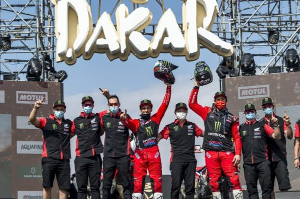 HondaDakar Rally 2021