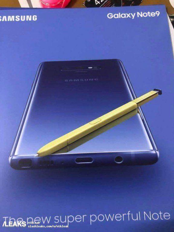 โปสเตอร์ Galaxy Note 9