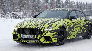 เปิดภาพ Mercedes-AMG GT4 กับความร้อนแรงบนหิมะ