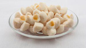 วิธีทำ ขนมกลีบลำดวน คุกกี้ไทยหอมกลิ่นอบควันเทียน