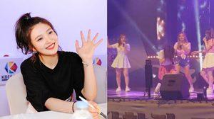 จอย Red Velvet ผวาพลุลม! ทรุดกลางเวทีคอนเสิร์ต!!