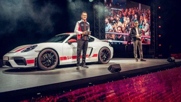Porsche 718 Cayman GT4 Sports Cup Edition