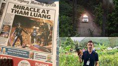 สื่อต่างประเทศ เมื่อมาทำข่าวถ้ำหลวงในไทย