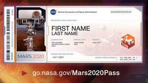 NASA ชวนส่งชื่อไปดาวอังคาร