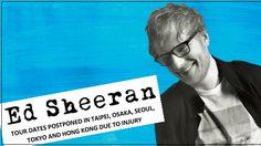 แฟนไทยลุ้นหนัก! Ed Sheeran เลื่อนคอนเสิร์ตในหลายประเทศ หลังประสบอุบัติเหตุ