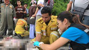 สลด! พบศพเด็กสาว ถูกข่มขืน ฆ่าถ่วงน้ำคลองสำโรง