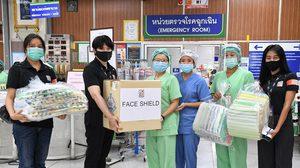 พนักงานจิตอาสา! โมโน กรุ๊ป ส่งมอบหน้ากาก Face Shield
