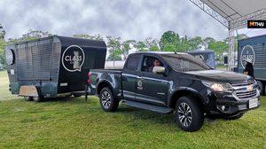 รถกระบะ Chevrolet แนะเคล็ดลับการลากจูงเทรลเลอร์เพื่อธุรกิจและการเดินทางท่องเที่ยว