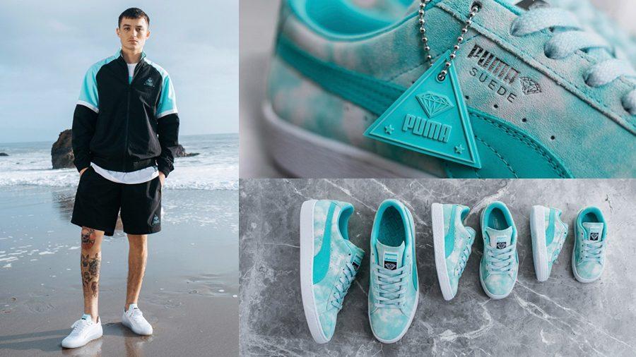 Diamond Supply x PUMA ปล่อยรองเท้า และเครื่องแต่งกายคอลเลคชั่นใหม่ล่าสุด
