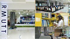 วิทยบริการ - ห้องสมุดที่เป็นมากกว่าห้องสมุด มทร.ธัญบุรี - RMUTT