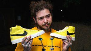 "Nike SB Blazer ""Rockstar"" งานคัสต้อมสวยๆ ของแรปเปอร์หนุ่ม Post Malone"