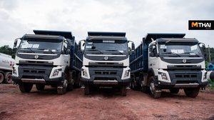 สหกลอิควิปเมนท์ เดินหน้างานเหมืองถ่านหิน สั่ง Volvo Trucks 26 คันลุยงาน