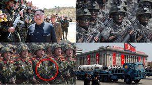 จับผิดภาพ!! พิธีสวนสนามของทหาร เกาหลีเหนือ อาวุธทั้งหลายกลายเป็นของปลอมซะนี่