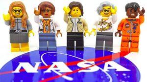 สุดเจ๋ง! LEGO เปิดตัวของเล่นชุดใหม่ ยกย่อง '5 หญิงเก่งที่โลกลืม' ขององค์การ NASA