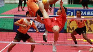 """""""มาเลเซีย – เกาหลีใต้"""" ร่วมบู๊ศึก ตะกร้อ ชิงชนะเลิศแห่งประเทศไทย ชิงถ้วยพระราชทาน ม.ว.ก. ครั้งที่ 41"""
