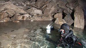 ถ้ำยิปซั่มที่ใหญ่ที่สุดในโลก Ordinskaya Cave