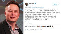 Elon Musk เจ้าของ SpaceX, Tesla และ The Boring เตรียมนำเทคโนโลยี มาช่วย 13 ชีวิต ทีมหมูป่า