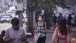 เช้านี้กทม. ฝุ่น PM 2.5 เกินมาตรฐาน 7 จุด เขตดินแดนพุ่ง 87 มคก./ลบ.ม.