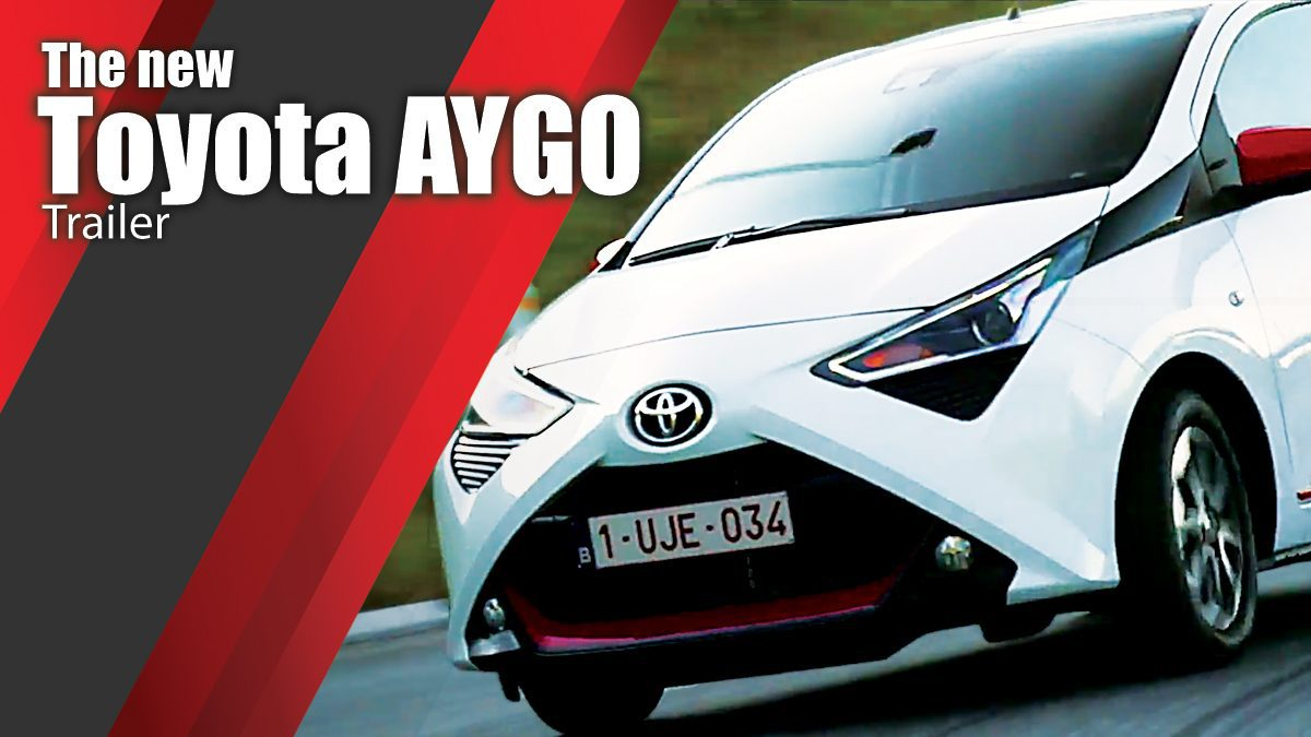The new Toyota AYGO Trailer