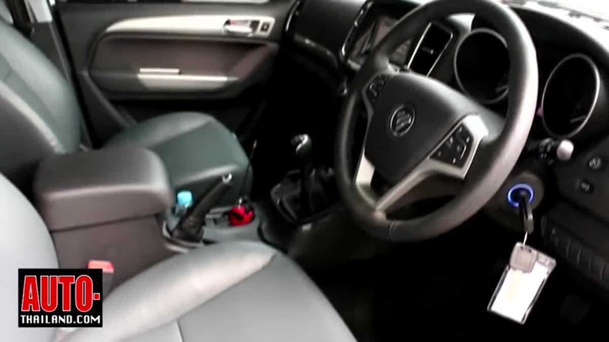 ทดลองขับ Foton Tunland 2.8 Double Cab High Premium 2WD กระบะจีนน้องใหม่ ประกอบไทย