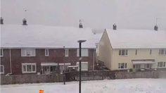 อังกฤษเผชิญพายุหิมะรุนแรง นับเป็นสภาพอากาศที่หนาวสุดในรอบทศวรรษช่วง ต.ค.