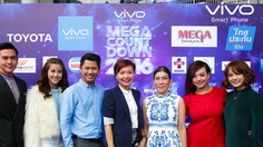vivo Smartphone Present MegaCountdown 2016 คอนเสิร์ตสุดมันส์ ต้อนรับปีใหม่