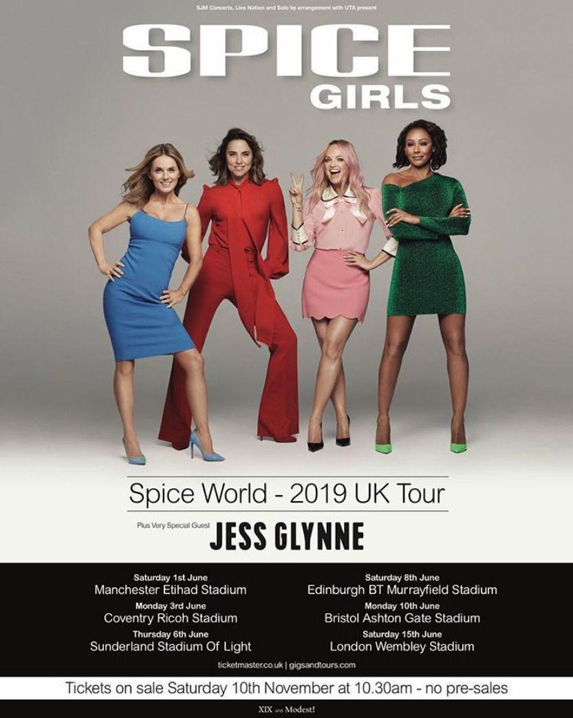ทัวร์คอนเสิร์ต Spice Girls
