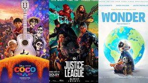 ท็อปทรียังไม่สะเทือน!! Coco, Justice League และ Wonder ยังทำรายได้ต่อเนื่องบนบ็อกซ์ออฟฟิศสหรัฐฯ
