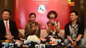 Bangkok's Happy Hours: Erawan Shrine Welcomes Two Hong Kong Stars