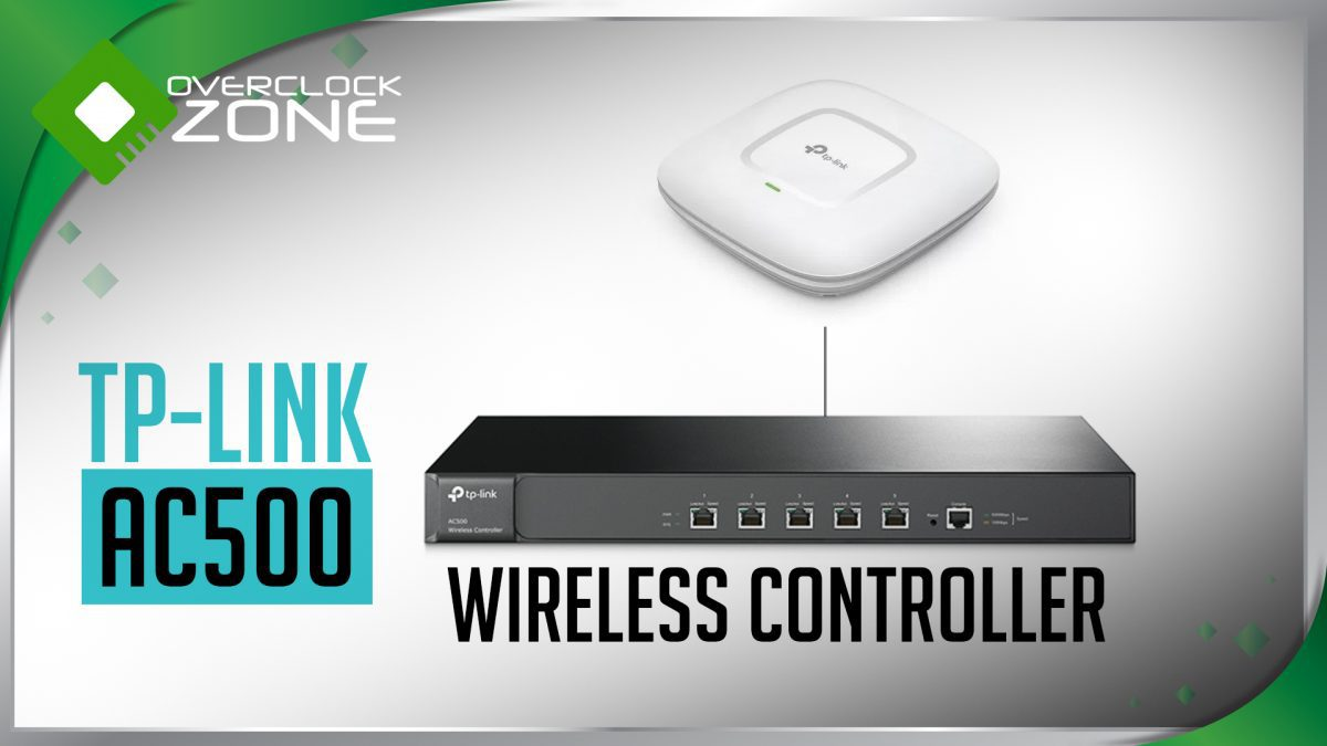 ลองเล่น TP-Link AC500 : Wireless AP Controller