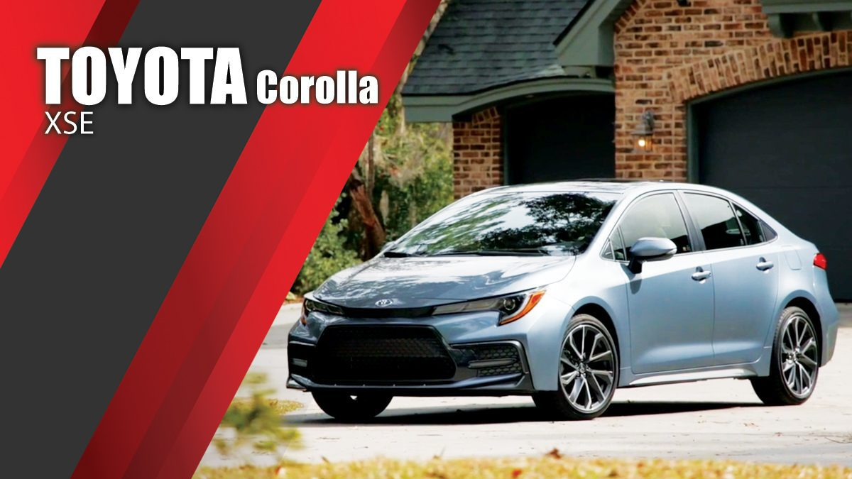 2020 Toyota Corolla XSE - Design & Driving Video