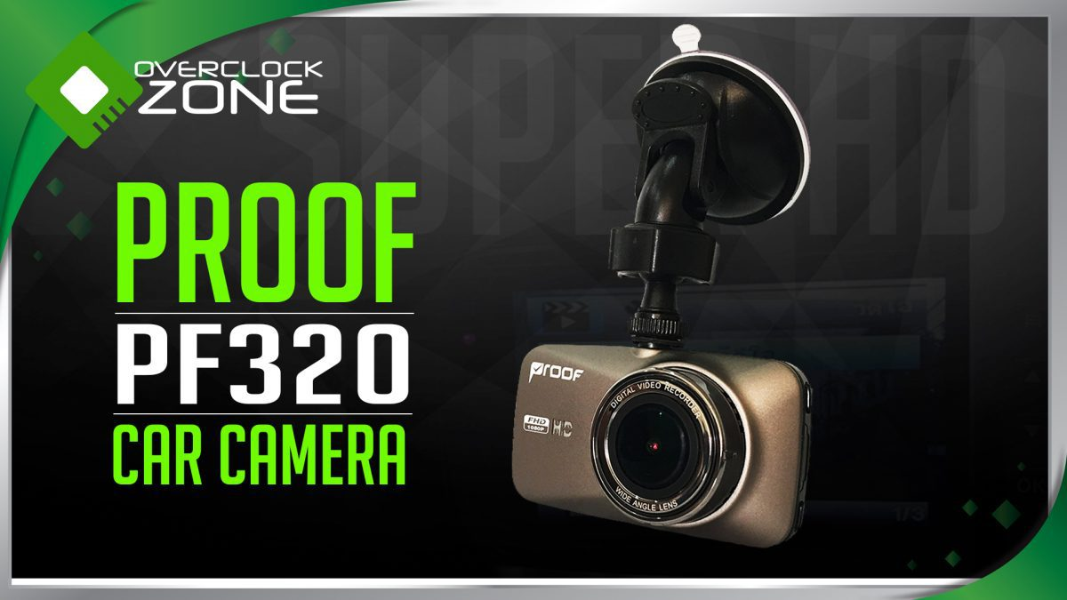 รีวิว PROOF PF320 : Full HD Car Camcorder