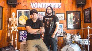 """โอ๊ค BIG ASS จับมือ สมเมย์ LABANOON เปิดค่าย """" VOM RECORDS"""" พร้อมสร้างความแตกต่างให้วงการดนตรี"""
