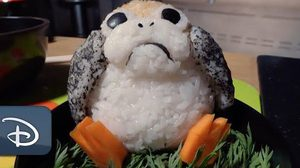 กินส่วนไหนก่อนดีนะ!!? เบนโตะรูป Porg สุดน่ารักจากหนัง Star Wars: The Last Jedi