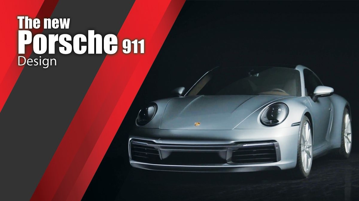 The new Porsche 911 - Design ดีไซน์ตัวรถสุดหรู
