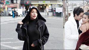 ใบเตย อาร์สยาม ควงดีเจแมน สวีททะลุเสื้อขนเฟอร์ ที่เกาหลี!
