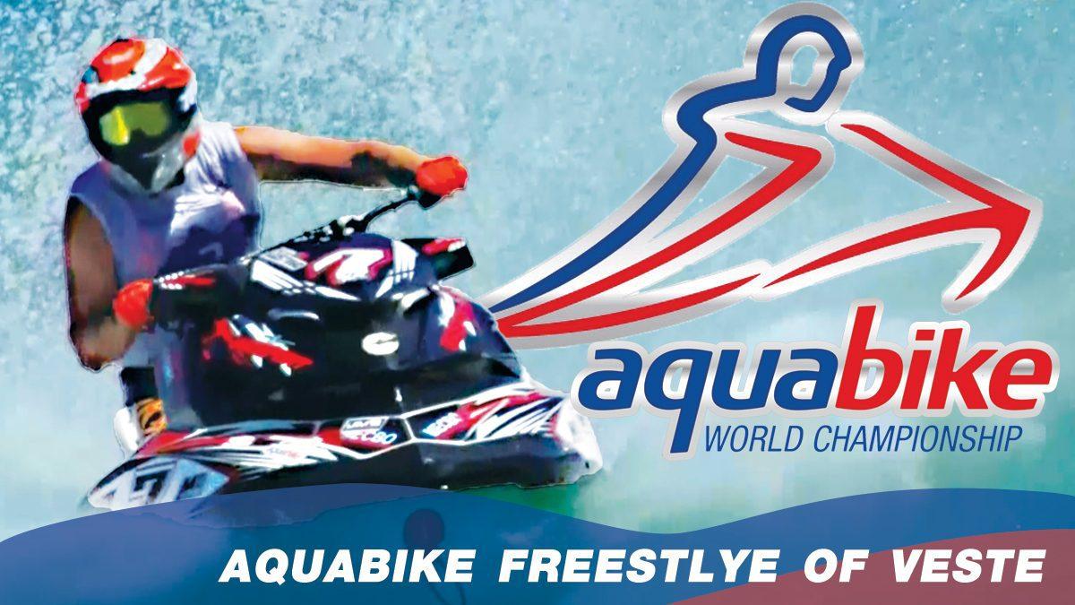 การแข่งขัน H2O Aquabike World Championship Season 17   แข่งขันเจ็ทสกี ณ เมืองวีเอสเต Freestyle