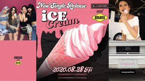 'Ice Cream' ซิงเกิลใหม่ BLACKPINK และ Selena Gomez รอลุ้น! จะได้เห็นพวกเขาใน MV ด้วยกันมั้ย?