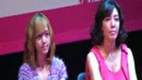 """090915 SNSD Jessica @ Musical """"Legally Blonde"""" Production Conference (1/5) [Fancam HD]"""