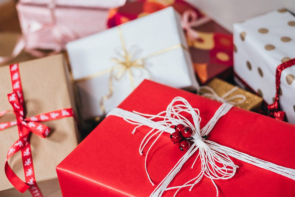 การให้ของขวัญในวันคริสต์มาส